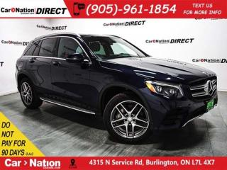 Used 2016 Mercedes-Benz GLC-Class 300 4MATIC| PANO ROOF| NAVI| for sale in Burlington, ON