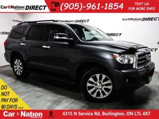 Used 2011 Toyota Sequoia Limited 5.7L V8| 4X4| DVD| NAVI| SUNROOF| for sale in Burlington, ON