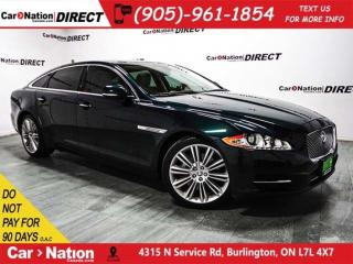 Used 2013 Jaguar XJ XJL Portfolio| AWD| DUAL SUNROOF| NAVI| for sale in Burlington, ON