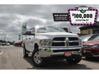 Used 2015 RAM 2500 ST - 6.4L HEMI, 4x4, Bedliner, Bluetooth, Back Up for sale in London, ON