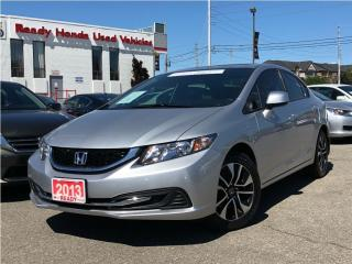 Used 2013 Honda Civic EX - Sunroof - Alloys - Rear Camera for sale in Mississauga, ON