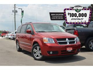 Used 2010 Dodge Grand Caravan SE - Remote Start, Cruise, Rear Air, Quad Captain for sale in London, ON