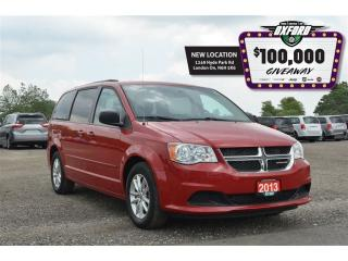 Used 2013 Dodge Grand Caravan SXT - Roof Rack, Bluetooth, Sat Radio, Quad Captai for sale in London, ON