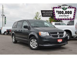 Used 2012 Dodge Grand Caravan CVP - keyless, dark tint, cruise, CD, air for sale in London, ON