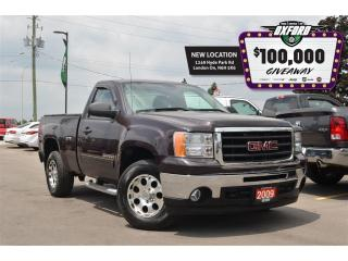 Used 2009 GMC Sierra 1500 SLE - 4.8L V8, 4x4, bedliner, tonneau cover for sale in London, ON