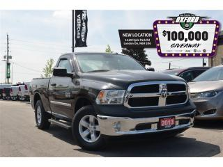 Used 2013 RAM 1500 SXT - V6, 4x4, bedliner, bluetooth, sat radio for sale in London, ON