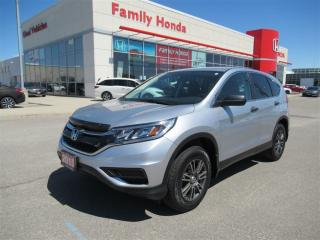 Used 2015 Honda CR-V LX, LIKE NEW! VERY LOW KMS! for sale in Brampton, ON