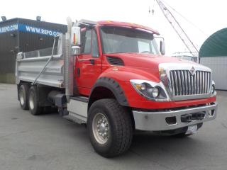 Used 2014 International WorkStar 7600 Tandem Axle Dump Truck with Air Brakes for sale in Burnaby, BC