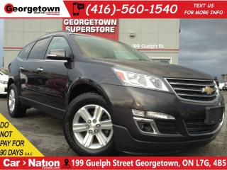 Used 2014 Chevrolet Traverse 1LT | AWD | CAPTAINS | BACK UP CAM | for sale in Georgetown, ON