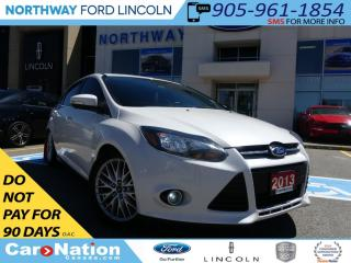 Used 2013 Ford Focus Titanium | NAV | REAR CAM | MOONROOF | LEATHER | for sale in Brantford, ON