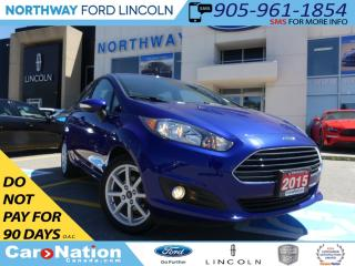 Used 2015 Ford Fiesta SE | LOW KM | BLUETOOTH | MYFORD TOUCH | for sale in Brantford, ON