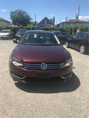 Used 2014 Volkswagen Passat COMFORTLINE for sale in Hamilton, ON