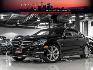 Used 2012 Mercedes-Benz C350 AMG COUPE|NAVI|BLINDSPOT|REAR CAM|LDW|PANO|LOADED for sale in North York, ON