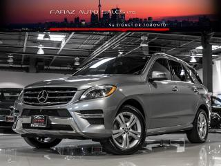 Used 2015 Mercedes-Benz ML-Class ML400 NAVI|BLINDSPOT|360CAM|PANO|LOADED for sale in North York, ON