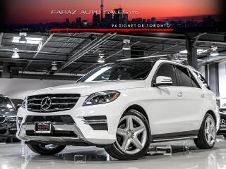 Used 2015 Mercedes-Benz ML 350 AMG|DISTRONIC|360CAM|BLINDSPOT|NAVI|BLUETEC|LOADED for sale in North York, ON