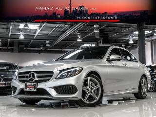Used 2016 Mercedes-Benz C 300 AMG|NAVI|BLINDSPOT|LED|REAR CAM|PANO|4MATIC|LOADED for sale in North York, ON