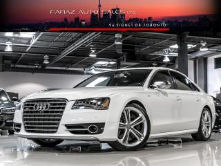 Used 2013 Audi S8 V8T|CARBON|MASSAGE|BRAKEGUARD|FULLY LOADED for sale in North York, ON