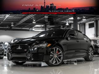 Used 2016 Jaguar XF R-S|35T|AWD|HEADS UP DIS|NAVI|RED INTER for sale in North York, ON