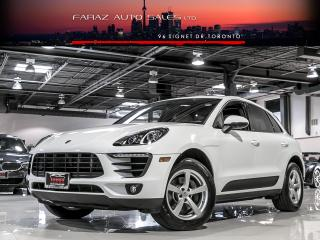 Used 2017 Porsche Macan SPORT CHRONO LANE DEP REAR CAM PANO ROOF for sale in North York, ON