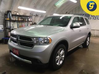 Used 2012 Dodge Durango SXT*AWD*7 PASSENGER*U CONNECT PHONE*KEYLESS ENTRY*POWER WINDOWS/LOCKS/MIRRORS*TRI ZONE CLIMATE CONTROL w/REAR AIR CONTROL* for sale in Cambridge, ON
