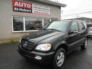 Used 2004 Mercedes-Benz ML 350 4MATIC for sale in Saint-hubert, QC