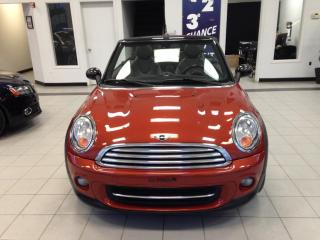 Used 2011 MINI Cooper Convertible for sale in Sherbrooke, QC
