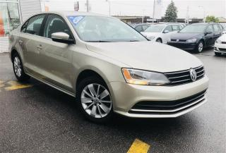 Used 2015 Volkswagen Jetta Trendline 2.0 6sp at for sale in Gatineau, QC
