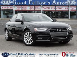 Used 2014 Audi A4 KOMFORT LINE, QUATTRO, LEATHER SEATS, 2.0 L TURBO for sale in North York, ON