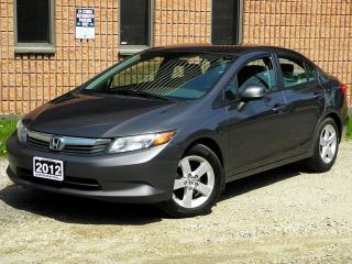 Used 2012 Honda Civic LX | CERTIFIED | AUTO for sale in Waterloo, ON