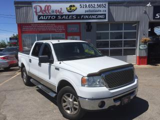 Used 2008 Ford F-150 LARIAT CREW CAB 4X4 5.4L TRITON V8 for sale in London, ON