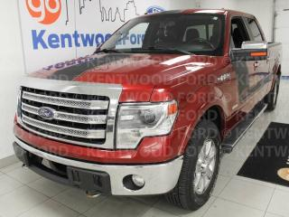 Used 2013 Ford F-150 Lariat 4x4 with it all. NAV, sunroof, power leather seats and a back up cam for sale in Edmonton, AB