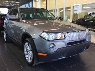 Used 2010 BMW X3 xDrive30i AWD, HEATED LEATHER, PANO SUNROOF for sale in Edmonton, AB