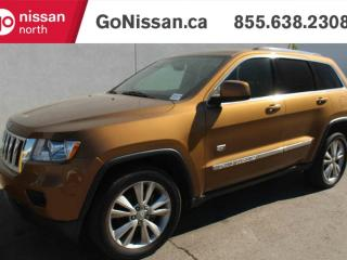 Used 2011 Jeep Grand Cherokee 70th Anniversary 4WD, TWO TONE TAN LEATHER, NAVIGATION, SUNROOF, for sale in Edmonton, AB