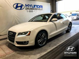 Used 2012 Audi A5 2.0T PREMIUM PLUS + CUIR + TOIT + MAGS + for sale in Drummondville, QC