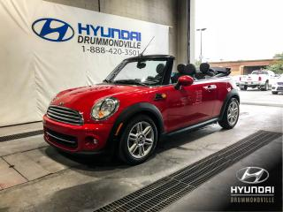 Used 2015 MINI Cooper CONVERTIBLE CONVERTIBLE + MAGS + CUIR + CRUISE + A/C for sale in Drummondville, QC