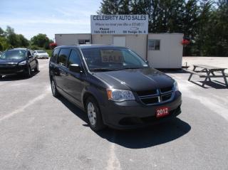 Used 2012 Dodge Grand Caravan SE for sale in Elmvale, ON