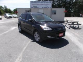 Used 2013 Ford Escape AWD SEL for sale in Elmvale, ON
