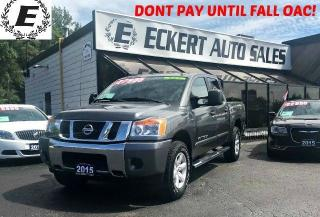 Used 2015 Nissan Titan SV Crew Cab 4X4 for sale in Barrie, ON