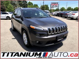 Used 2016 Jeep Cherokee 4X4+GPS+Camera+Pano Roof+Power Gate+Heated Seats++ for sale in London, ON