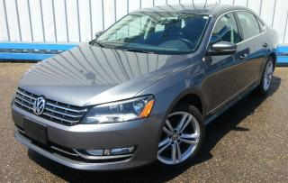 Used 2014 Volkswagen Passat TDI DIESEL *LEATHER-SUNROOF* for sale in Kitchener, ON