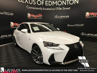 New 2018 Lexus IS 350 F Sport Series 3 for sale in Edmonton, AB