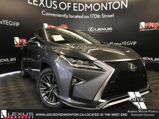 New 2018 Lexus RX 350 F Sport SERIES 2 for sale in Edmonton, AB