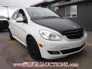 Used 2007 Mercedes-Benz B-CLASS B200T 4D HATCHBACK TURBO for sale in Calgary, AB