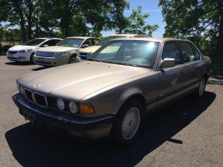 Used 1989 BMW 7 SERIES 750 IL * RWD * LEATHER * SUNROOF for sale in London, ON