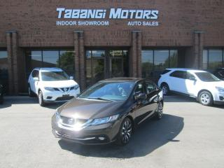 Used 2013 Honda Civic TOURING | NO ACCIDENTS | NAVIGATION | CAMERA | LEATHER for sale in Mississauga, ON