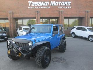 Used 2015 Jeep Wrangler SPORT | 4X4 | NO ACCIDENT | MANUAL | LIKE NEW! for sale in Mississauga, ON
