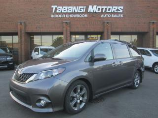 Used 2014 Toyota Sienna SE | 8-PASSENGER | LEATHER | POWER DOORS | SUNROOF | CAMERA for sale in Mississauga, ON