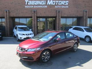 Used 2013 Honda Civic EX | SUNROOF | NO ACCIDENT | REAR CAMERA | HEATED SEATS for sale in Mississauga, ON