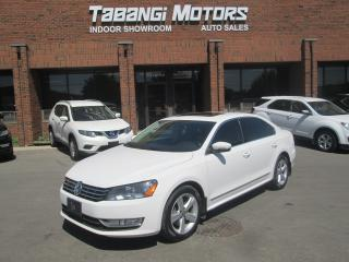 Used 2013 Volkswagen Passat HIGHLINE | NO ACCIDENT | DIESEL | LEATHER | SUNROOF for sale in Mississauga, ON