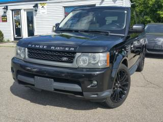 Used 2010 Land Rover Range Rover Sport Sport luxury. NO ACCIDENTS canadian truck low payments are for sale in Brampton, ON
